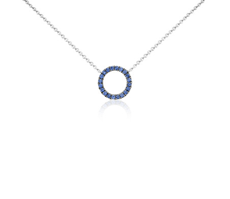 circle pendants pendant ed co jewelry a chain tiffany in sterling necklace necklaces on silver