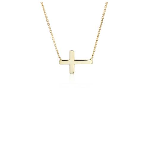 Three Chain Necklace Gold