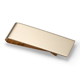 Money Clip in 14k Yellow Gold