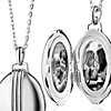 Monica Rich Kosann Oversized Oval Locket in Sterling Silver