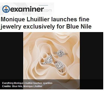 Bague de fiançailles diamant torsadé monture cathédrale Monique Lhuillier en vedette sur Examiner.com