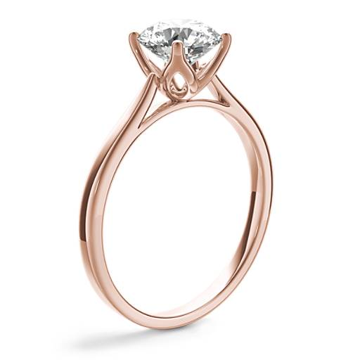 NEW Monique Lhuillier Cathedral Solitaire Engagement Ring