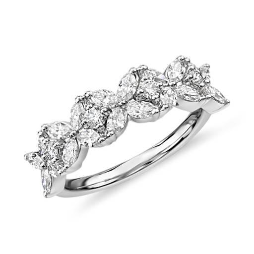 Monique Lhuillier Cherie Diamond Anniversary Ring In
