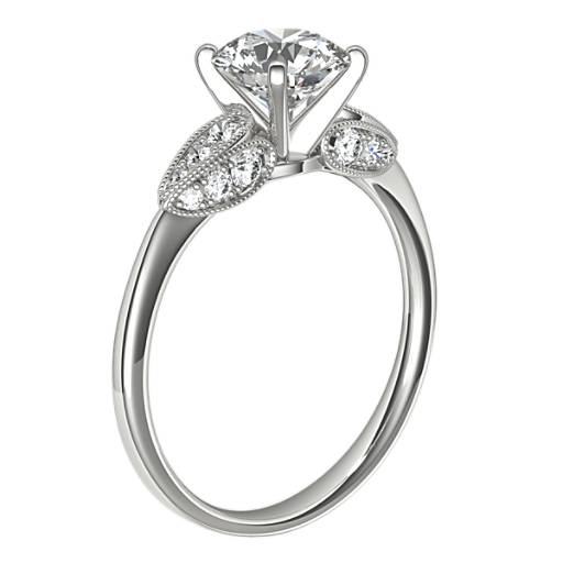 Monique Lhuillier Cherish Diamond Engagement Ring