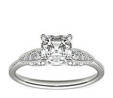 Monique Lhuillier Cherish Diamond Engagement Ring in Platinum (3/8 ct. tw.)