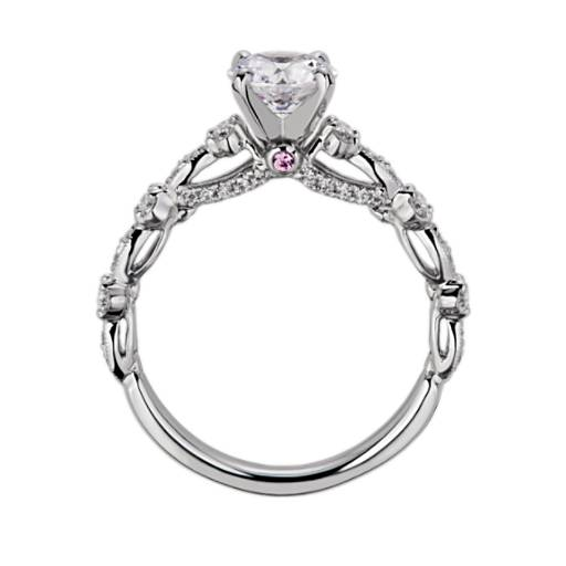 NEW Monique Lhuillier Draped Eternal Diamond Engagement Ring