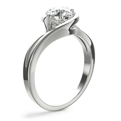 Monique Lhuillier Eternal Solitaire Engagement Ring