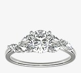 Monique Lhuillier Jardin Diamond Engagement Ring