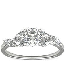 Monique Lhuillier Jardin Diamond Engagement Ring