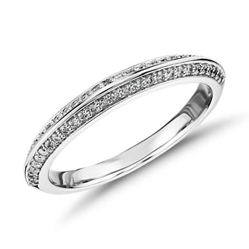 Monique Lhuillier Knife Edge Petal Diamond Ring In