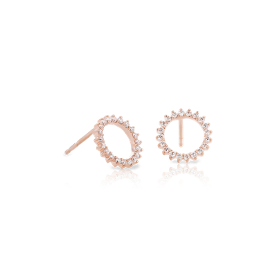Monique Lhuillier Starburst Stud Earrings