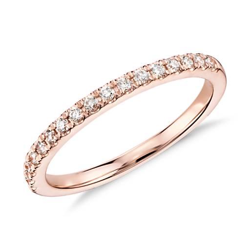 Monique Lhuillier Petal Garland Diamond Engagement Ring In