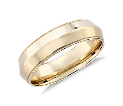 Monique Lhuillier Polished Knife-Edge Wedding Ring