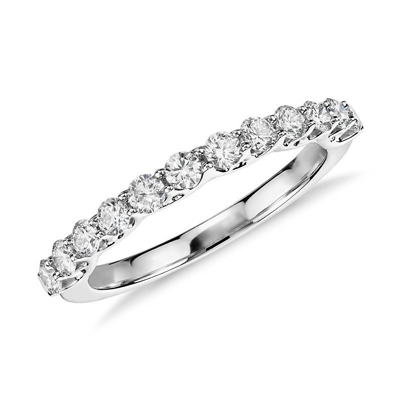 Monique Lhuillier Adoration Diamond Ring in Platinum (1/2 ct. tw.