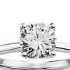 Monique Lhuillier Solitaire Engagement Ring in Platinum