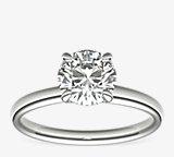 Monique Lhuillier Classic Solitaire Engagement Ring