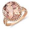 Morganite and Diamond Ring in Gossip Girl