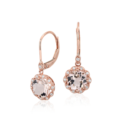 Morganite Jewelry Rings Necklaces Earrings Bracelets Blue Nile