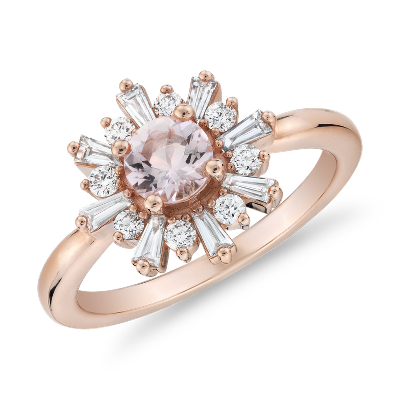 bague diamant taille rose