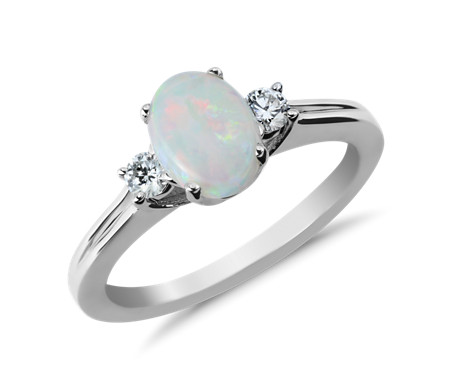 il rings ring listing diamond opal pear halo engagement