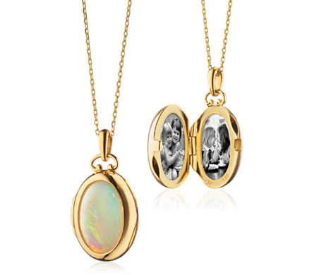 collections opal darlybird grande pacific necklace nl lockets pendants