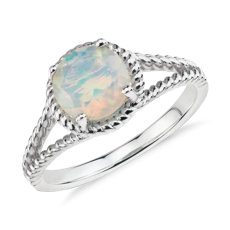 ring birthstone rings opal sterling jewelry october oval diamond p gemstone silver