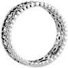 Open Filigree Diamond Eternity Ring in Platinum (1/3 ct. tw.)