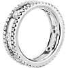 Open Trio Diamond Eternity Ring in 18k White Gold (1 1/2 ct. tw.)