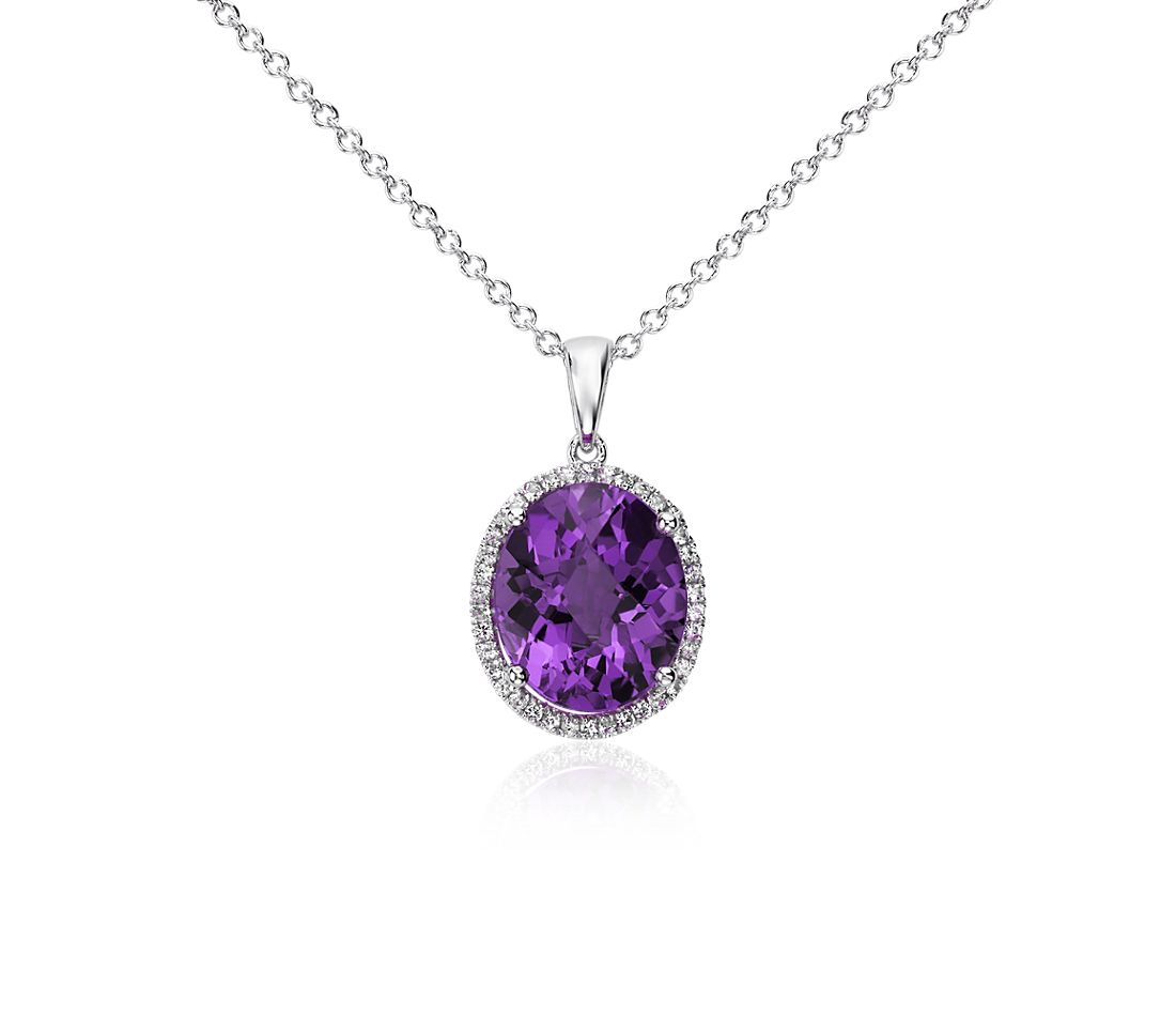 Amethyst Necklace Jewelry
