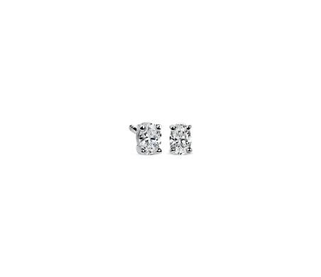 Blue Nile Premier Diamond Stud Earrings in Platinum (1/4 ct. tw.) - F / VS JyDrqa