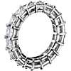 Princess-Cut Diamond Eternity Ring in Platinum (5.5 ct. tw.)