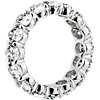 Oval Cut Diamond Eternity Ring in Platinum- G/SI1 (5.5 ct. tw.)
