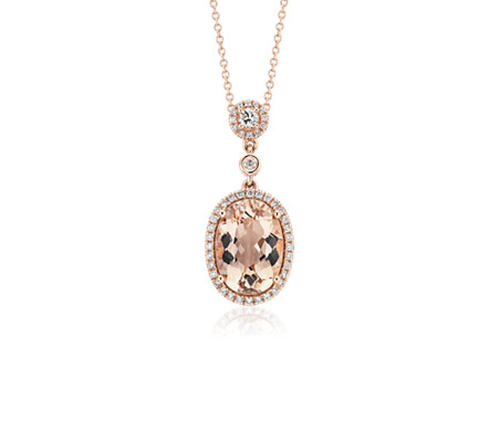 anniversary necklace with diamonds ed the items jewelry morganite platinum tiffany statement in