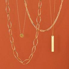 1. Blue Nile Gold Necklace