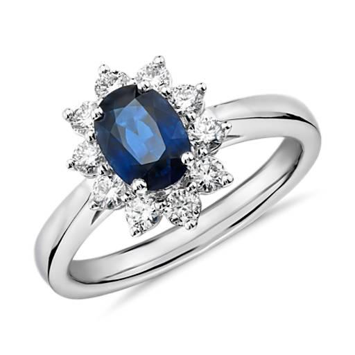 Sapphire Rings Eternity Wedding & Engagement Rings