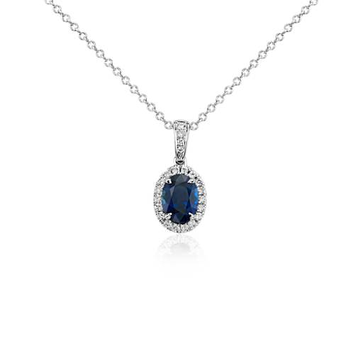 Super Sapphire Necklaces - September Birthstone Necklaces   Blue Nile LD11
