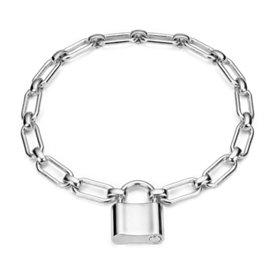 Bracelet cadenas en argent sterling