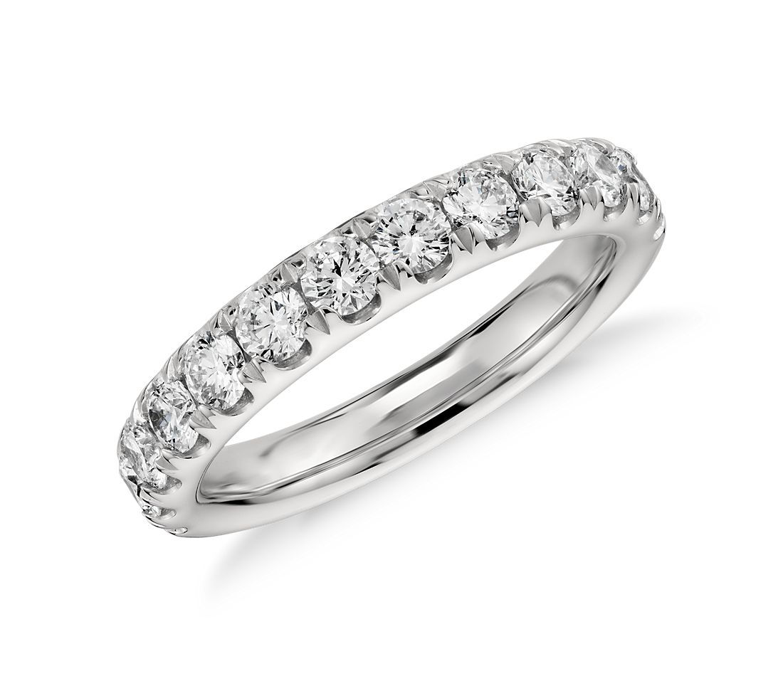 Pavé Diamond Ring in Platinum (1 ct. tw.)