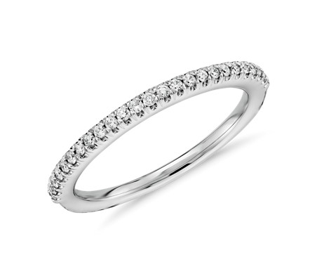 ring ct platinum bands wedding diamond lrg scalloped pav detailmain band tw pave phab blue nile in main