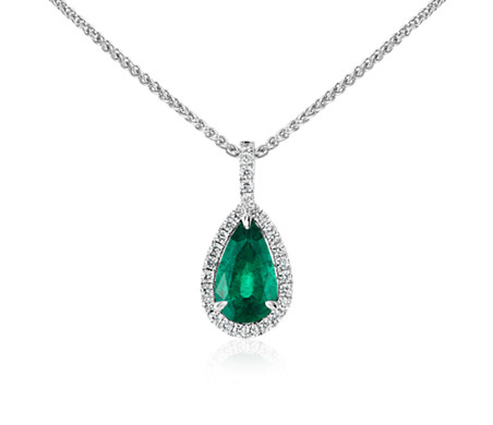 jewelry p designer be diamond necklace shape pendant on pear park
