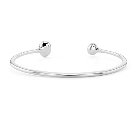 Pebble Cuff Bracelet in Sterling Silver