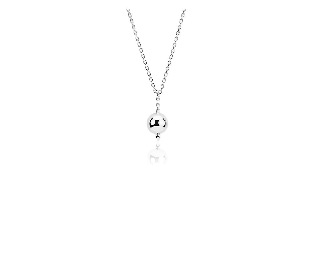 Pendulum Necklace in Sterling Silver