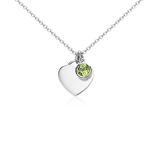 loading necklaces peridot zoom birthstone cubic birthstones pendants with sterling necklace cat pendant zirconia and silver in charm kitten stones