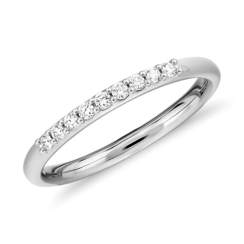 Petite Diamond Ring in Platinum (1/10 ct. tw.)