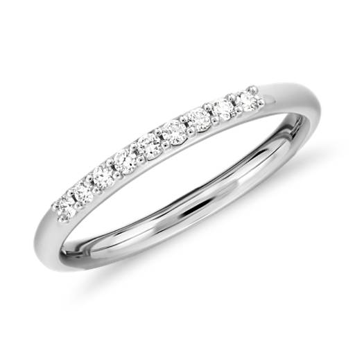 NEW Petite Diamond Ring in Platinum (1/10 ct. tw.)