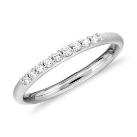 NEW Petite Diamond Ring in Platinum (1/10 ct. tw.)