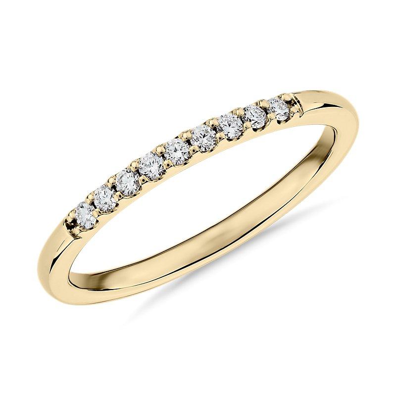 Petite Diamond Ring in 14k Yellow Gold (1/10 ct. tw.)