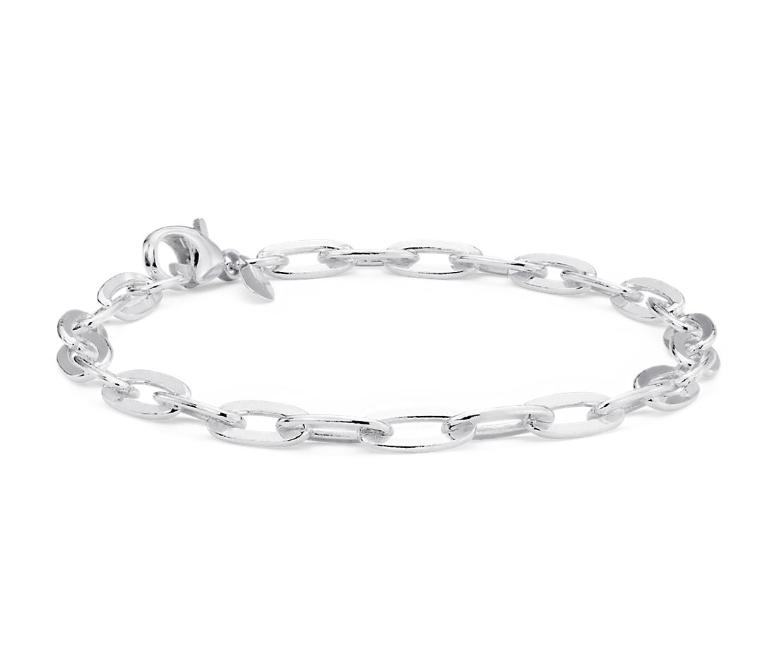 Petite Linked Bracelet in Sterling Silver