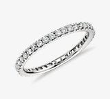 Riviera Pavé Diamond Eternity Ring