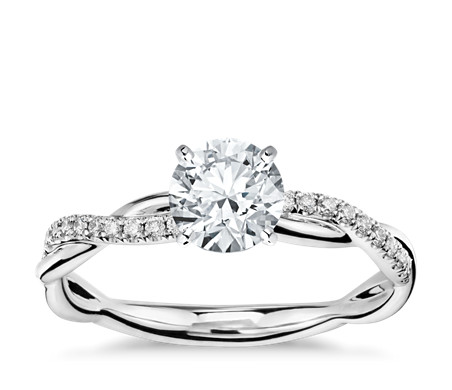 ring center diamond item halo platinum csh w shank engagement cushion pave rings and stg